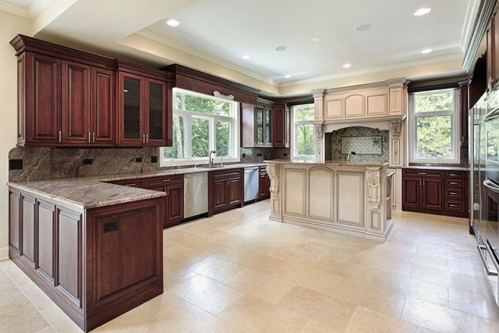 How many different types of countertops are there?